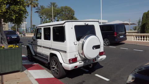 Mercedes Benz G63 AMG - Rear View Footage