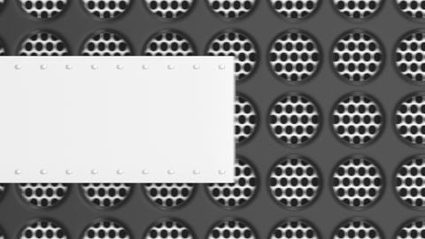 0922 Animated white and black banner template Footage