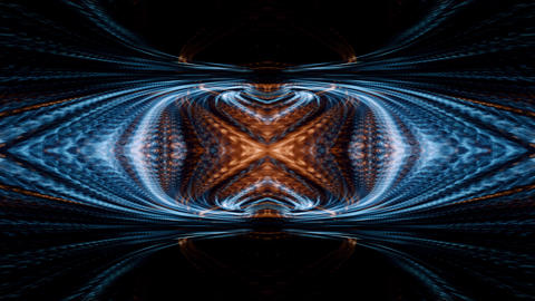 Video Background 2410: A futuristic kaleidoscope of digital light Animation