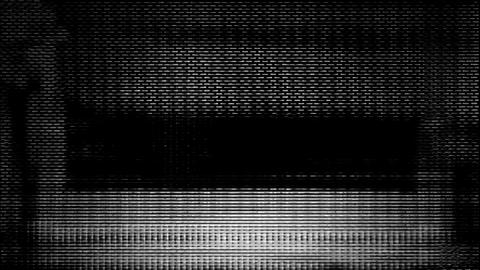 Video Background 2439: Streaming device screen pixels fluctuate with video motion Footage