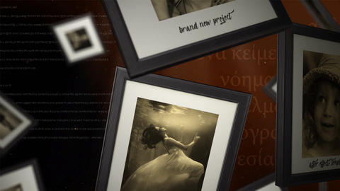 Vintage Memories in 4K After Effects Template