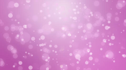 Magenta pink particle bokeh background Animation