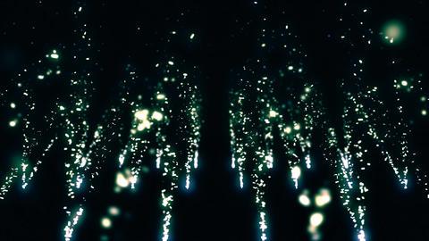 Sparkle Particles 4K 03 CG動画