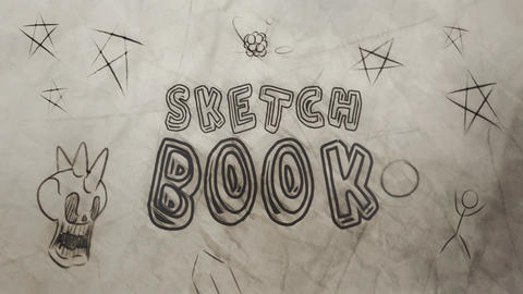 SketchBook Title & Lower Third Reveals After Effects Template
