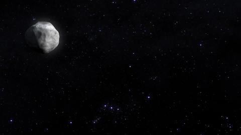 Asteroids animation. Nasa Public Domain Imagery Animation