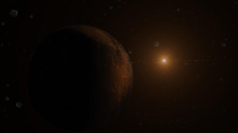 Planet and Sun Animation