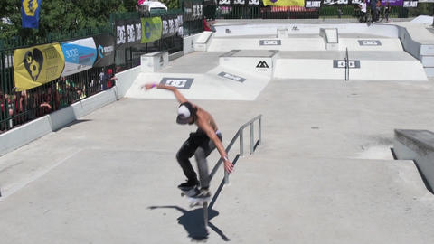 Joao Gomes during the DC Skate Challenge Footage