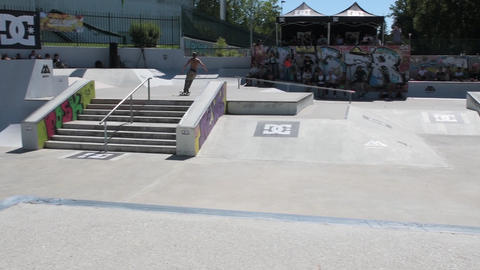 Jorge Simoes during the DC Skate Challenge Footage