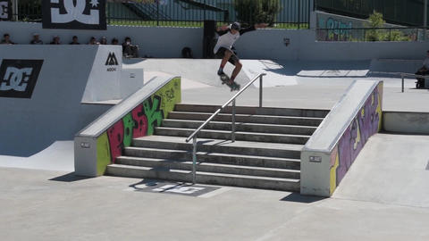 Gustavo Ribeiro during the DC Skate Challenge Footage