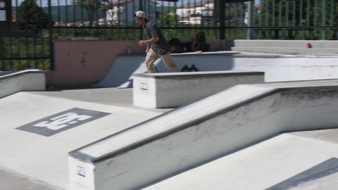 Daniel Fernandes during the DC Skate Challenge Footage