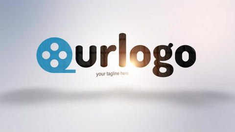 Logo Slices After Effects Template