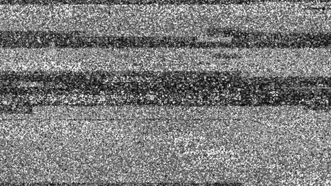 Grey Noise Tv Video Damage Background Animation