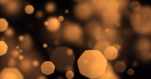 gold christmas digital glitter sparks golden particles out of focus bokeh flowing on gold Live Action
