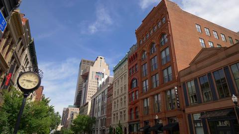 Beautiful architecture at Louisville Main street - LOUISVILLE, USA - JUNE 14 Footage