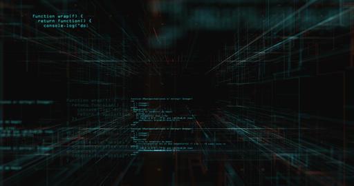 Code Stream Background 애니메이션