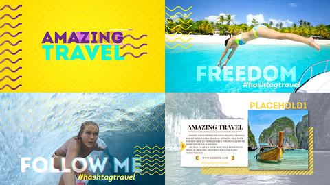Amazing Travel After Effects Template