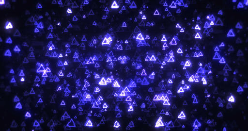 R Futuristic Triangles Background 실사 촬영