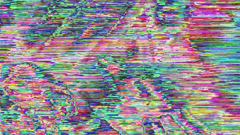 Transforming psychedelic futuristic futuristic iridescent background Live Action