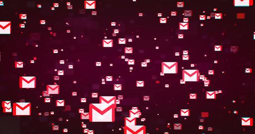 Gmail Background 실사 촬영