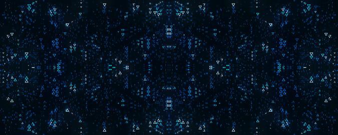 Triangles Merge Background 실사 촬영