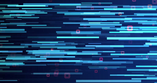 Strips And Squares Background Animation