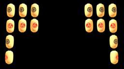 提灯 和 日本 まつり 祭り 祇園祭 CG動画