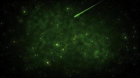 Mov110 shooting star loop 02 Animation