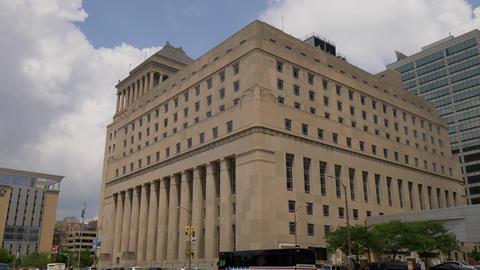 Carnahan Courthouse St. Louis City Circuit Court- SAINT LOUIS, USA - JUNE 19 Live Action