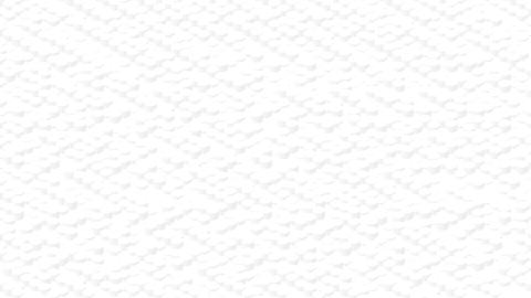 Cylinder box 3D virtual isometric shuffle wave pattern, Blockchain technology concept design Animation