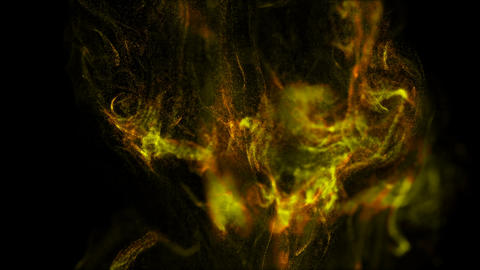 Abstract background of fluid particles.On beatiful relaxing Background Footage