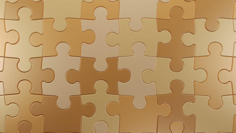 Jigsaw Puzzle Vertical Moving Background Animation