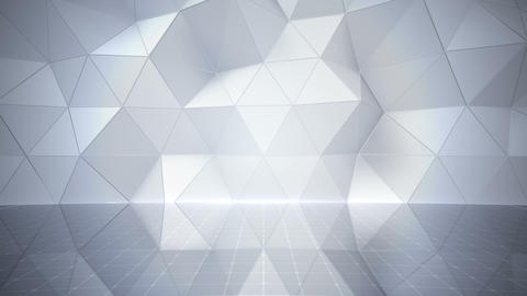 Geometric Wall Stage 1 NApFw 4k Videos animados