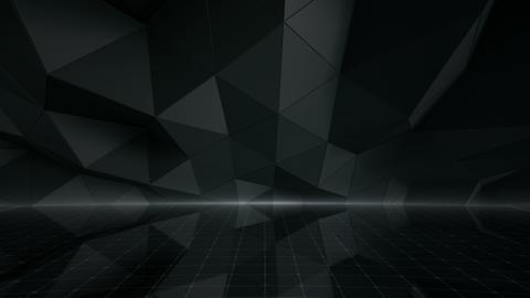 Geometric Wall Stage 1 NBpFc 4k Animation