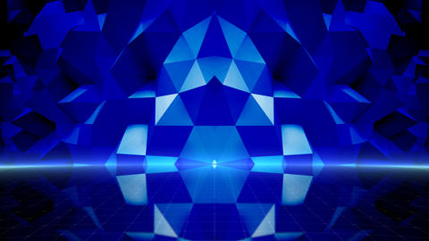 Geometric Wall Stage 1 NCpFc 4k Animation