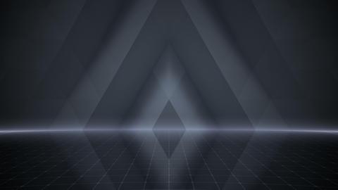Geometric Wall Stage 2 WA2Zb 4k Animation