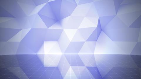 Geometric Wall Stage 1 NApFc 4k Animation