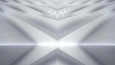 Geometric Wall Stage 2 WBpZb 4k Animation