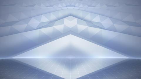 Geometric Wall Stage 2 WBpZc 4k Animation
