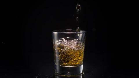 Whiskey Shot Footage