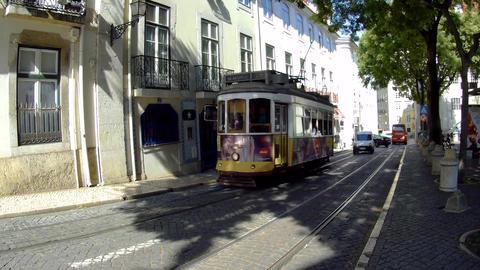 Lisbon Tram Footage