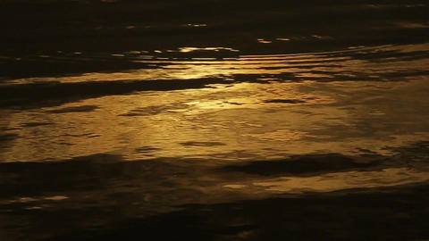 Golden Water Light. (60 Fps) 0