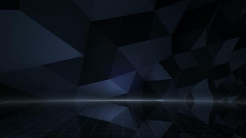 Geometric Wall Stage 1 NDpFb 4k Animation