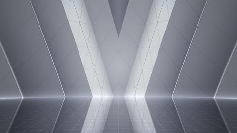 Geometric Wall Stage 2 WC1Sw 4k Animation