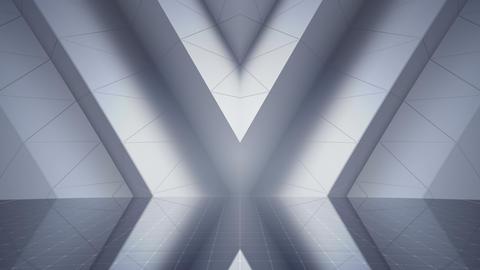 Geometric Wall Stage 2 WApSw 4k Animation
