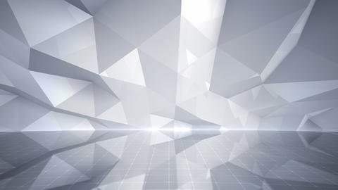 Geometric Wall Stage 3 NBpF Rb 4k Animation