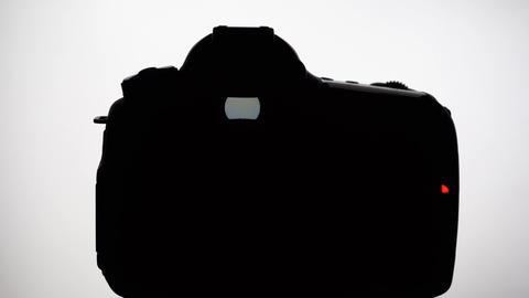 DSLR silhouette GIF