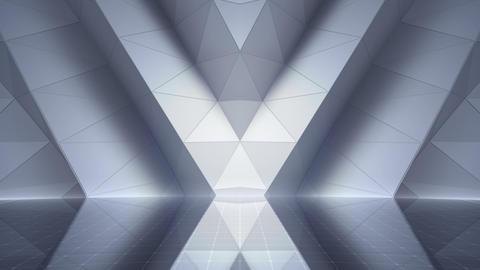 Geometric Wall Stage 2 WApZw 4k CG動画