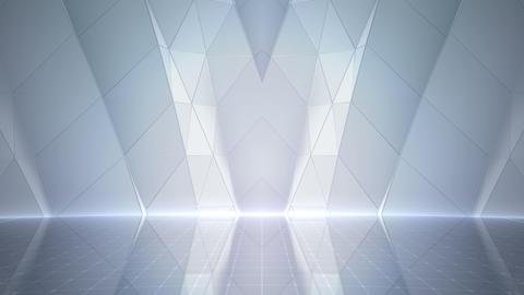 Geometric Wall Stage 2 WC1Zc 4k Animation