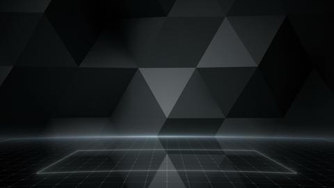 Geometric Wall Stage 1 NA1Fd 4k Animation