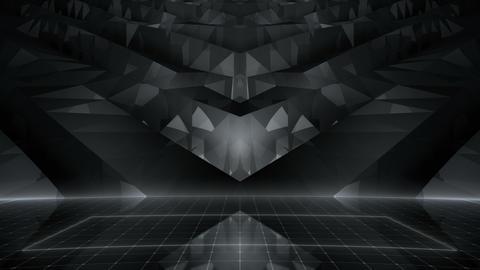 Geometric Wall Stage 4 WBpZ Rd 4k CG動画